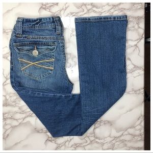 Aeropostale curvy Chelsea bootcut jeans